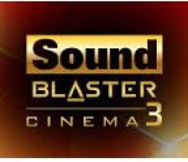 Creative Sound Blaster Cinema 3 Version 1 0 0 14