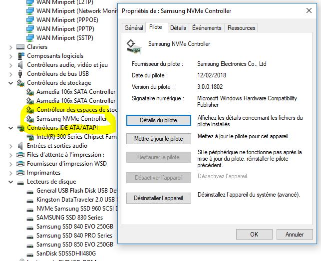 Station-Drivers - Samsung SM961 NVMe driver and firmware